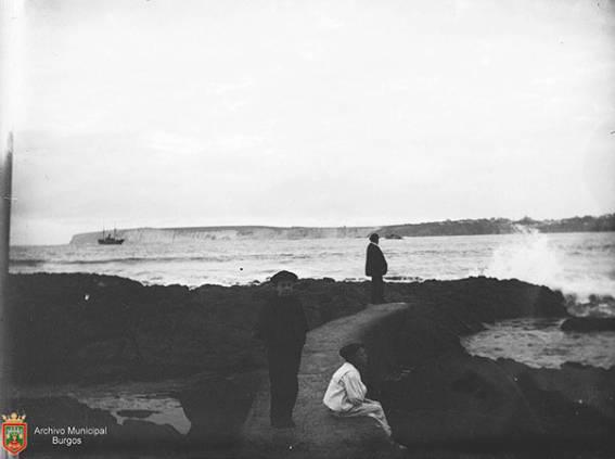 Lo Liso guneko harriak (1895) Gelatino-bromuro
